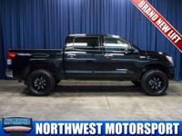 Clean Carfax Two Owner 4x4 Truck with Brand New Lift!