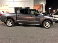 Magnetic Gray Metallic 2013 Toyota Tundra Platinum 5.7L