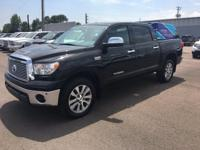 4WD and Leather. Short Bed! Crew Cab! The Toyota Tundra