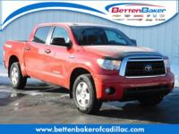Radiant Red 2013 Toyota Tundra Limited CrewMax 4WD