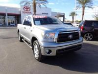 4x4 double cab Tundra. The perfect truck for work and