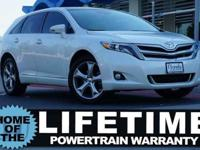 Carfax 1 owner! This 2013 ALMOST NEW Toyota Venza LE