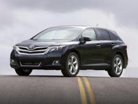 2013 White Toyota Venza LE    Bluetooth!, Sirius / XM