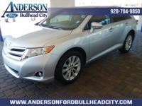 Silver 2013 Toyota Venza LE FWD 6-Speed Automatic