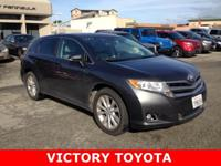 2013 Toyota Venza LE in Gray starred featured include