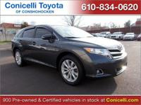 PREMIUM & KEY FEATURES ON THIS 2013 Toyota Venza