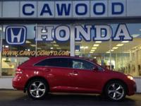 Options:  2013 Toyota Venza Le|Red|Alloy Wheels|V6