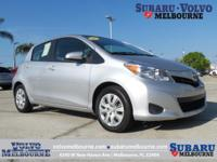 CLEAN CAR FAX 2013 TOYOTA YARIS L**TWO