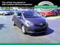 2013 Toyota Yaris Le Our Location is: Enterprise Car