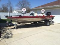 2013 Bass Tracker Pro Team 175 TXW with the 60