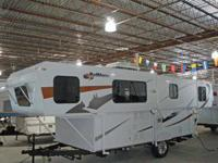 BRAND NEW 2013 TRAILMANOR 27? opened up, 20? closed
