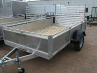 2013 Triton Trailers APT610 10 FOOT ATV/UTV TRAILER