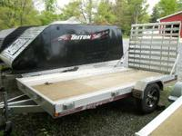 2013 Triton Trailers ut 12 drop gate Utility Trailers