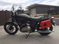 Make: Triumph Model: Other Mileage: 8,200 Mi Year: 2013