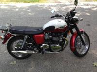 I have for sale a 2013 Triumph Bonneville T-100.