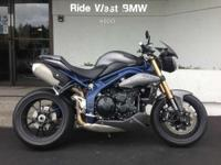 2013 Triumph Speed Triple R ABS SE ABS Rizoma Turn