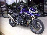 I currently have a 2013 Triumph Tiger Explorer 1200 for