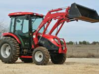 Do it all with this TYM 503 Hydrostatic Cab tractor!