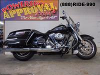 2013 Used Harley Davidson Road King for sale only