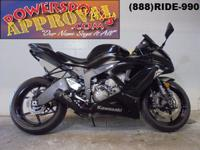 2013 Used Kawasaki Ninja ZX6R for sale with only 1,618
