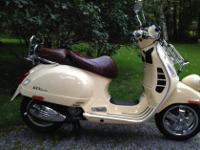 2013 Vespa scooter design GTV 300 ie. The Cadillac of