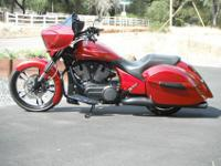Offered for sale is a unique 2013 Custom Victory Cross