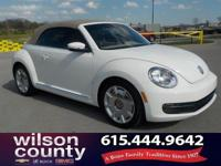 2013 Volkswagen Beetle 2.5L 2.5L 170 hp Candy White
