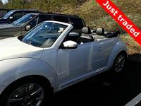 ONE-OWNER CARFAX. Black w/Leather Seating Surfaces,