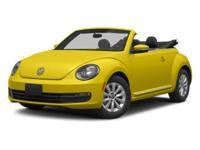 New Price! Volkswagen Beetle Black 27/21 Highway/City