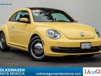 EPA 29 MPG Hwy/22 MPG City! LOW MILES - 28,298! YELLOW