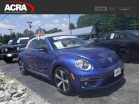 2013 Volkswagen Beetle Convertible, key features