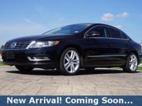 2013 Volkswagen CC 2.0T Lux in Deep Black Metallic,