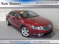 Check out this gently-used 2013 Volkswagen CC we