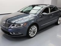 This awesome 2013 Volkswagen CC comes loaded with the