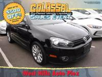 This Volkswagen Golf is CERTIFIED! Low miles for a