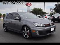 This 2013 Volkswagen GTI includes Bluetooth, Heated
