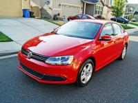 2013 Volkswagen Jetta TDI for sale beautiful hot red
