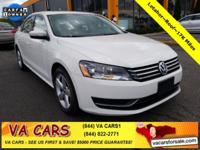 CARFAX One-Owner. Clean CARFAX. White 2013 Volkswagen