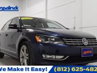CARFAX One-Owner. Clean CARFAX. Blue 2013 Volkswagen
