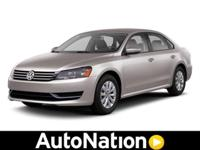 2013 Volkswagen Passat Our Location is: Auto Nation