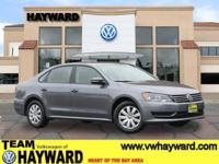 Options:  2013 Volkswagen Passat 2.5L S Sedan|Gray