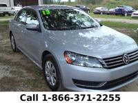 2013 Volkswagen Passat S w/Appearance *** Still under