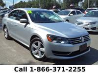 2013 Volkswagen Passat SE Features: Warranty - Keyless