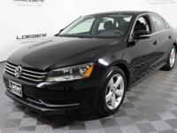 JUST REDUCED ! A VERY NICE 1 OWNER 2013 PASSAT 2.5 SE.