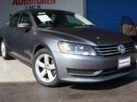 (904) 474-3922 ext.995 This 2013 Volkswagen Passat SE