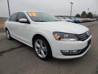 We are excited to offer this 2013 Volkswagen Passat.