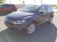 Tiguan SE 4Motion, Volkswagen Certified, 2.0L TSI,