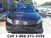2013 Volkswagen Tiguan S Features: Warranty - Keyless