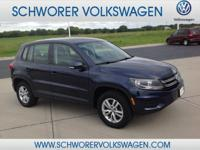 1 owner Tiguan with no accidents or recalls!  This 2013