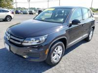 Tiguan S, 2.0L TSI, 6-Speed Automatic with Tiptronic,
